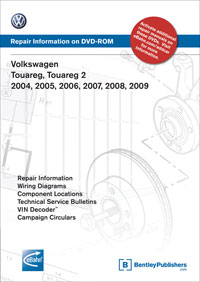VW Touareg 2004-2009 DVD-ROM