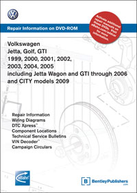 VW GOLF/JETTA/GTI 99-05 DVD