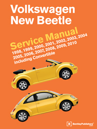 vw volkswagen new beetle service manual 1998 2010 bentley rh bentleypublishers com 1998 Volkswagen New Beetle Parts 2002 Volkswagen New Beetle