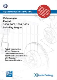 VW Passat B6 2006-09 DVD