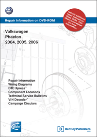 cv_vd15 volkswagen phaeton 2004, 2005, 2006 repair manual on dvd rom  at arjmand.co