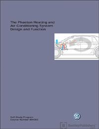VW Phaeton Heating and AC Des SSP