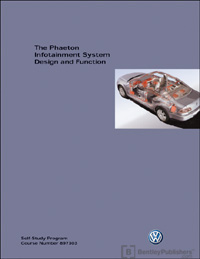 VW Phaeton Info Sys Des & Fun SSP
