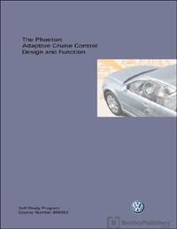 VW Phaeton Adap Cru Control SSP