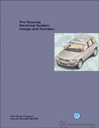 Volkswagen Touareg Electrical System Design And Function Technical Service Training Self Study Program