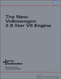 VW New VW 2.8 Liter V6 Engine SSP 