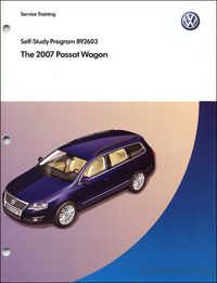 VW The 2007 Passat Wagon SSP