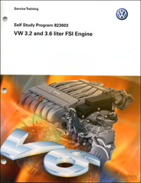 VW 3.2 L and 3.6 L FSI Engine SSP