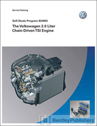 VW 2.0 Liter TSI Engine SSP 824803