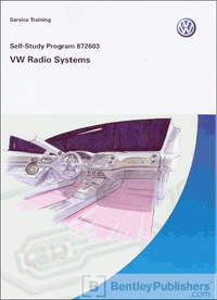VW Radio Systems SSP 872603