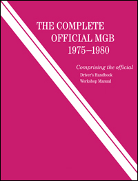 Complete Official MGB 1975-80