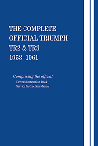 triumph repair and owners manual the complete official triumph tr2 rh bentleypublishers com