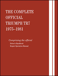 Comp Official Triumph TR7 75-81