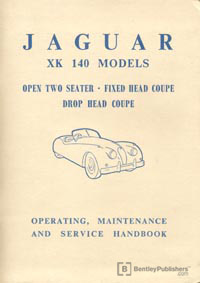 Jag XK 140 54-57/Hand