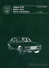 Jag XJ6 Series 1 68-72/Parts
