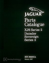 Jag XJ6 Series 2 72-79/Parts