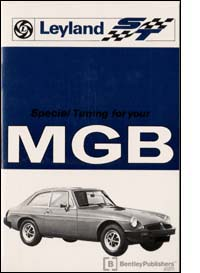 MG MGB TOURER TUNING/HAND