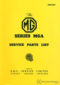 MG MGA 1500 55-59/Part