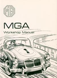 MGA 1500, 1600, MkII 55-62/Work