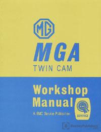 MGA 1600 Twin Cam 58-60/Work