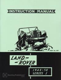 Land Rover Ser I 48-58 Instr Man