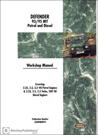 Land Rover Defender 93-95 Manual
