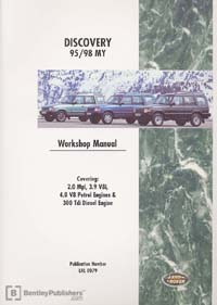 Land Rover Discovery 95-98 Manual