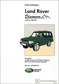 Land Rover Discovery 1989-98/parts