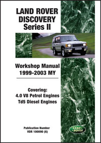Land Rover Discovery Manual: 99-03