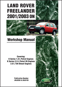 Land Rover Freelander 01-03 Manual
