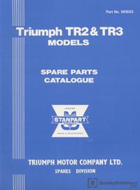 Triumph TR2 & TR3 53-63/Parts
