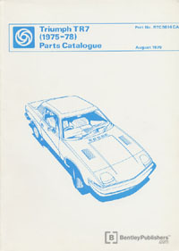 Triumph TR7 75-78/Parts
