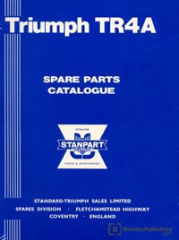 Triumph TR4A 65-67/Parts