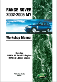 Range Rover Wksp Manual: 2002-2005
