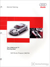 The 2008 Audi TT Running Gear Technical Service Training Self-Study Program