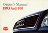 Audi 100 Owner's Manual: (1992) 1993