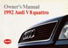 AUDI V8 QUATTRO 1992 OM