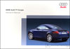 Audi TT Coupe Owner's Manual: 2006