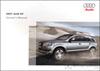 Audi Q7 Owner's Manual: 2007