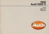AUDI 5000 S 1986 OM