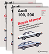 Audi<br />100, 200: 1989-1991<br />Official Factory Repair Manual