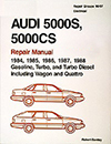 Audi 5000S, 5000CS: 1984-1988 Repair Manual