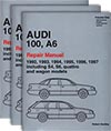 Audi<br />100, A6: 1992-1997<br />(Including the S4, S6, quattro and wagon)<br />Repair Manual