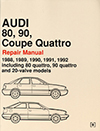 Audi<br />80, 90, Coupe Quattro: 1988-1992<br />Repair Manual