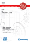 Audi 90<br />1993, 1994, 1995<br />Repair Manual on DVD-ROM