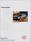 Audi allroad quattro&lt;br /&gt;Design and Function&lt;br /&gt;Technical Service Training&lt;br /&gt;Self-Study Program