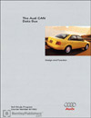 Audi CAN Data Bus<br />Design and Function<br />Technical Service Training<br />Self-Study Program