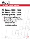 AUDI A6 ELEC WIRING MANUAL 98-00