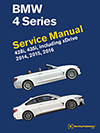 BMW 4 Series (F32, F33, F36)<br/>Service Manual:<br/>2014, 2015, 2016