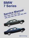 BMW 7 Series (E32) Service Manual:&lt;br/&gt;1988, 1989, 1990, 1991,&lt;br/&gt;1992, 1993, 1994